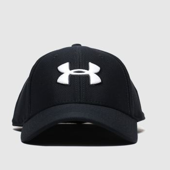 Under Armour Black & White Blitzing Cap Caps and Hats