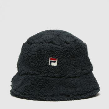 Fila Black Bray Bucket Hat Adults Hats