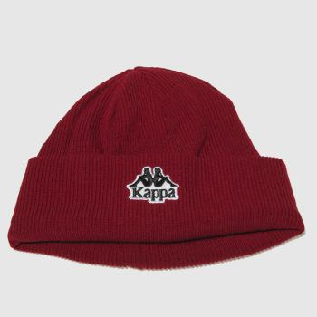 Kappa Red Aysnes Beanie Caps and Hats