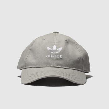 Adidas Light Grey ACID WASHED Adults Hats