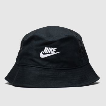 Nike Black & White Bucket Futura Adults Hats