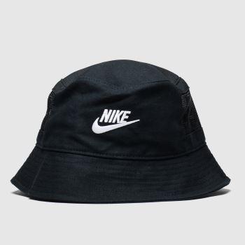 Nike Schwarz-Weiß Bucket Futura Erwachsene Kopfbedeckung