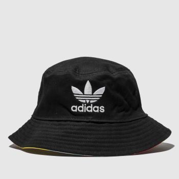 Adidas Black and Pink Tropical Age Bucket Adults Hats