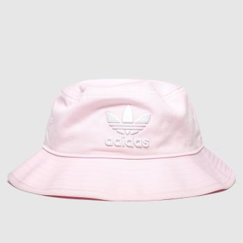Adidas Pale Pink Bucket Hat Adults Hats