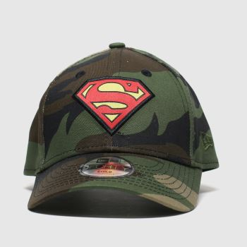 New Era Khaki Superman 9forty Caps and Hats