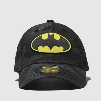 accessories new era black kids batman 9forty