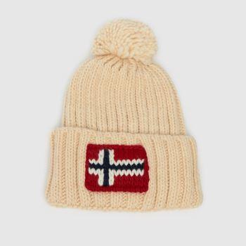 NAPAPIJRI Natural Semiury Knit Adults Hats