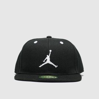 Nike Jordan Black & White Kids Jumpman Cap Caps and Hats