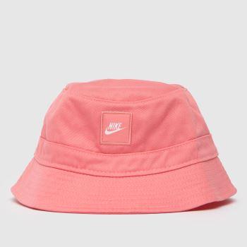 Nike Pink Kids Core Bucket Hat Caps und Hüte