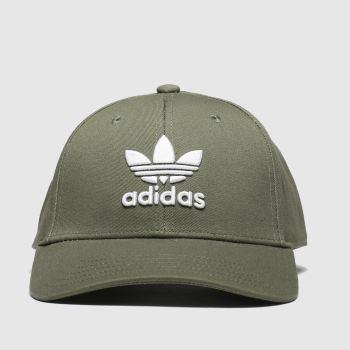 Adidas Khaki Baseball Classic Trefoil Adults Hats