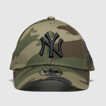 New Era Khaki Kids Ny Yankees 9Forty Caps and Hats