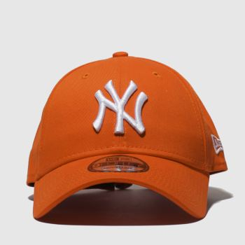 New Era Orange 9Forty League Essential Ny Caps and Hats