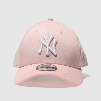 New Era Pink 9Forty League Essential Ny Caps and Hats