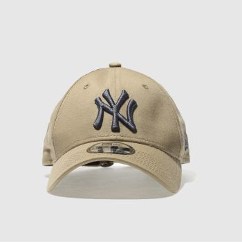 New Era Tan 9Forty League Essential Caps and Hats