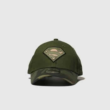 New Era Khaki Kids 9forty Superman c2namevalue::Caps und Hüte
