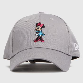 New Era Grey Kids Minnie Mouse 9forty Caps and Hats
