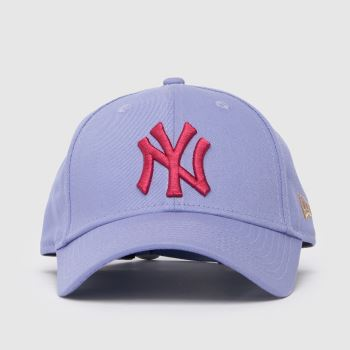 New Era Lilac Kids Ny Yankees 9forty Caps and Hats
