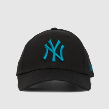 New Era Black and blue Kids Ny Yankees 9forty Caps and Hats