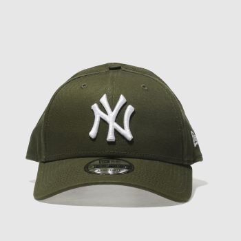 ACCESSORIES NEW ERA KHAKI LEAGUE ESSENTIAL 9FORTY NY
