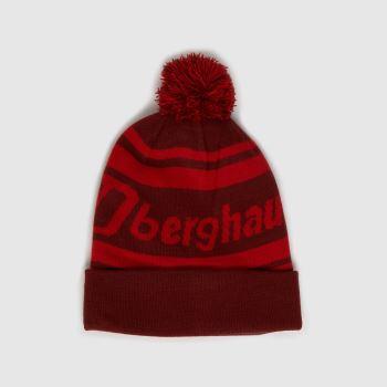berghaus Rot Pom Beanie Caps und Hüte