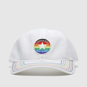 Converse Headwear White Pride Baseball Adults Hats