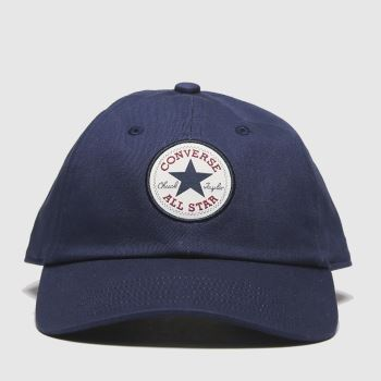Converse Headwear Navy Tipoff Chuck Baseball Adults Hats