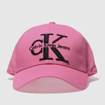 Calvin Klein Pink Jeans Re-Issue Baseball Caps and Hats