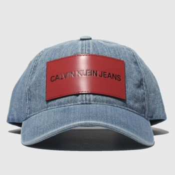 Calvin Klein Blue Jeans Cap Caps and Hats