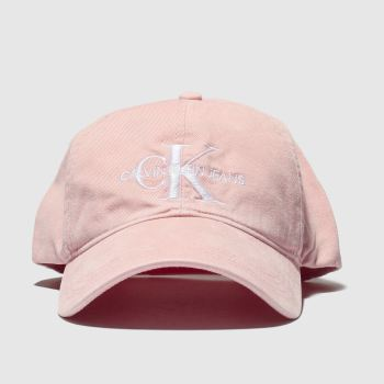 Calvin Klein Pink Jeans Monogram Caps and Hats