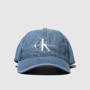 Calvin Klein Blue Jeans Monogram Caps and Hats