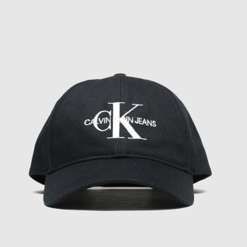 Calvin Klein Black Ckj Monogram c2namevalue::Caps and Hats