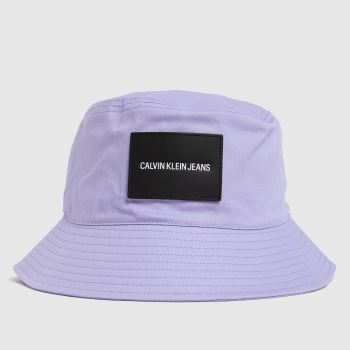 CALVIN KLEIN Lilac Sport Essentials Bucket Caps and Hats
