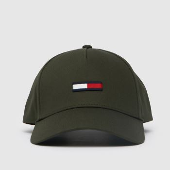 Tommy Hilfiger Khaki Tommy Jeans Classic Cap Caps and Hats
