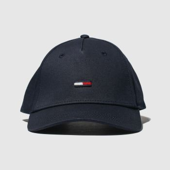Tommy Hilfiger Navy Tj Flag Cap Caps and Hats from Schuh