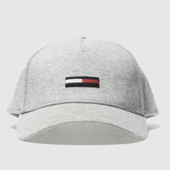 Tommy Hilfiger Light Grey TJ FLAG Caps and Hats