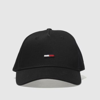 Tommy Hilfiger Black TJ FLAG CAP Caps and Hats