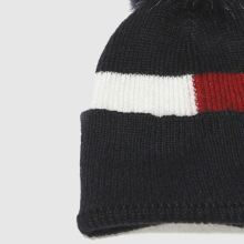 Tommy Hilfiger luxury colorblock beanie 1