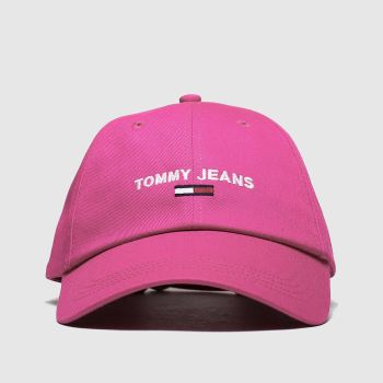 Tommy Hilfiger Pink Tj Sport Adults Hats