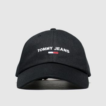 Tommy Hilfiger Black Tj Sport Adults Hats