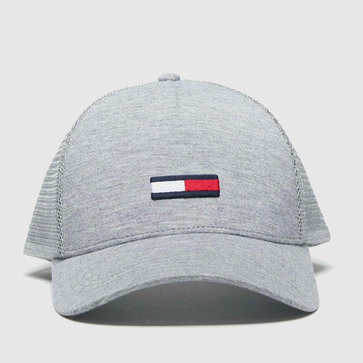 Accessories Tommy Hilfiger Light Grey Tj Trucker Flag