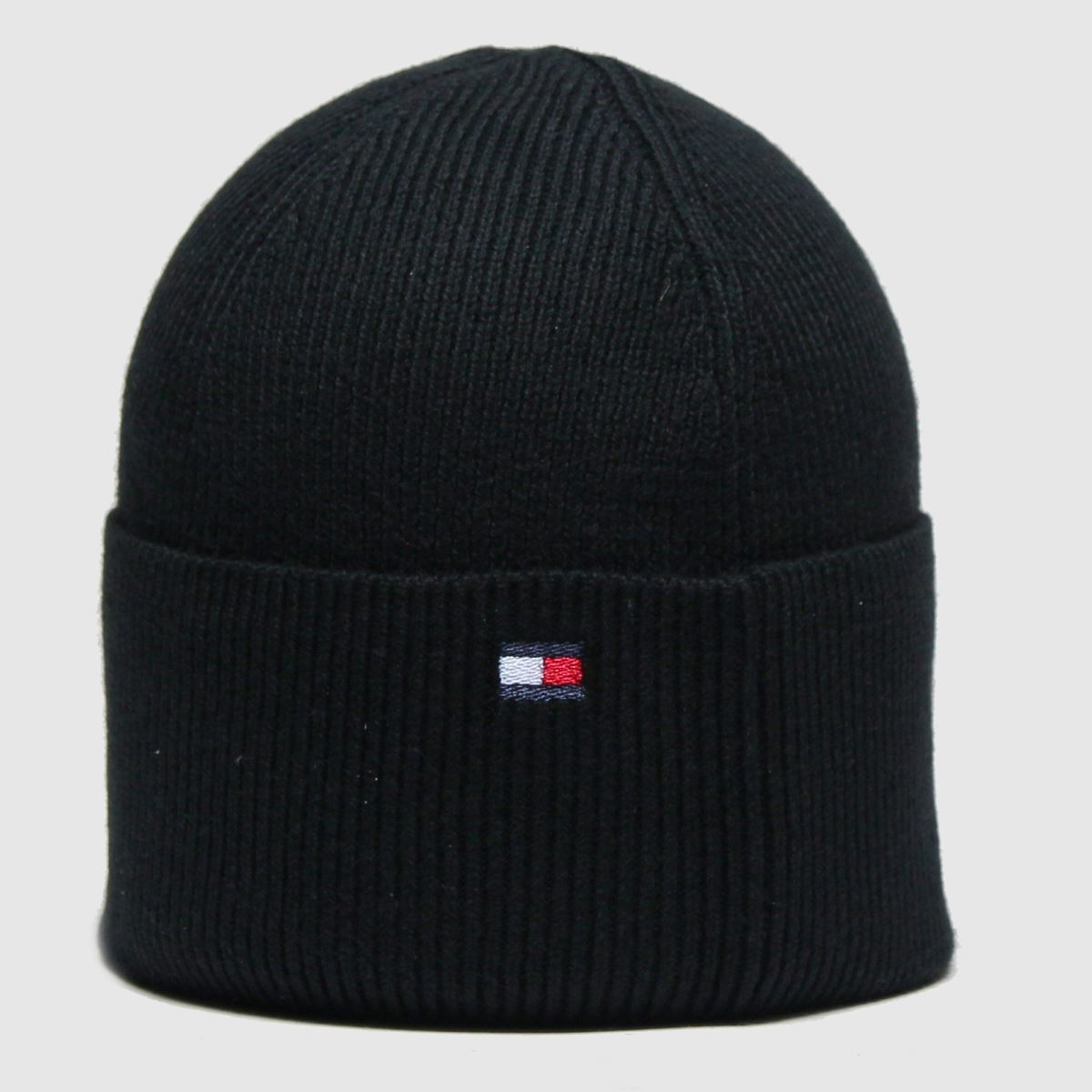 Accessories Tommy Hilfiger Black Esential Knit Beanie