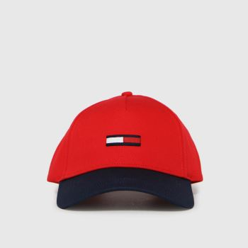 Tommy Hilfiger Red Flag Cap Caps and Hats