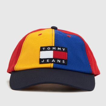 Tommy Hilfiger Multi Heritage Cap Color Block Caps and Hats