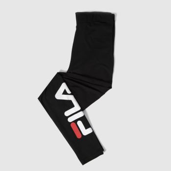 Fila Black & White Avril Legging Womens