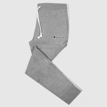 Champion Light Grey Rib Cuff Pants Mens