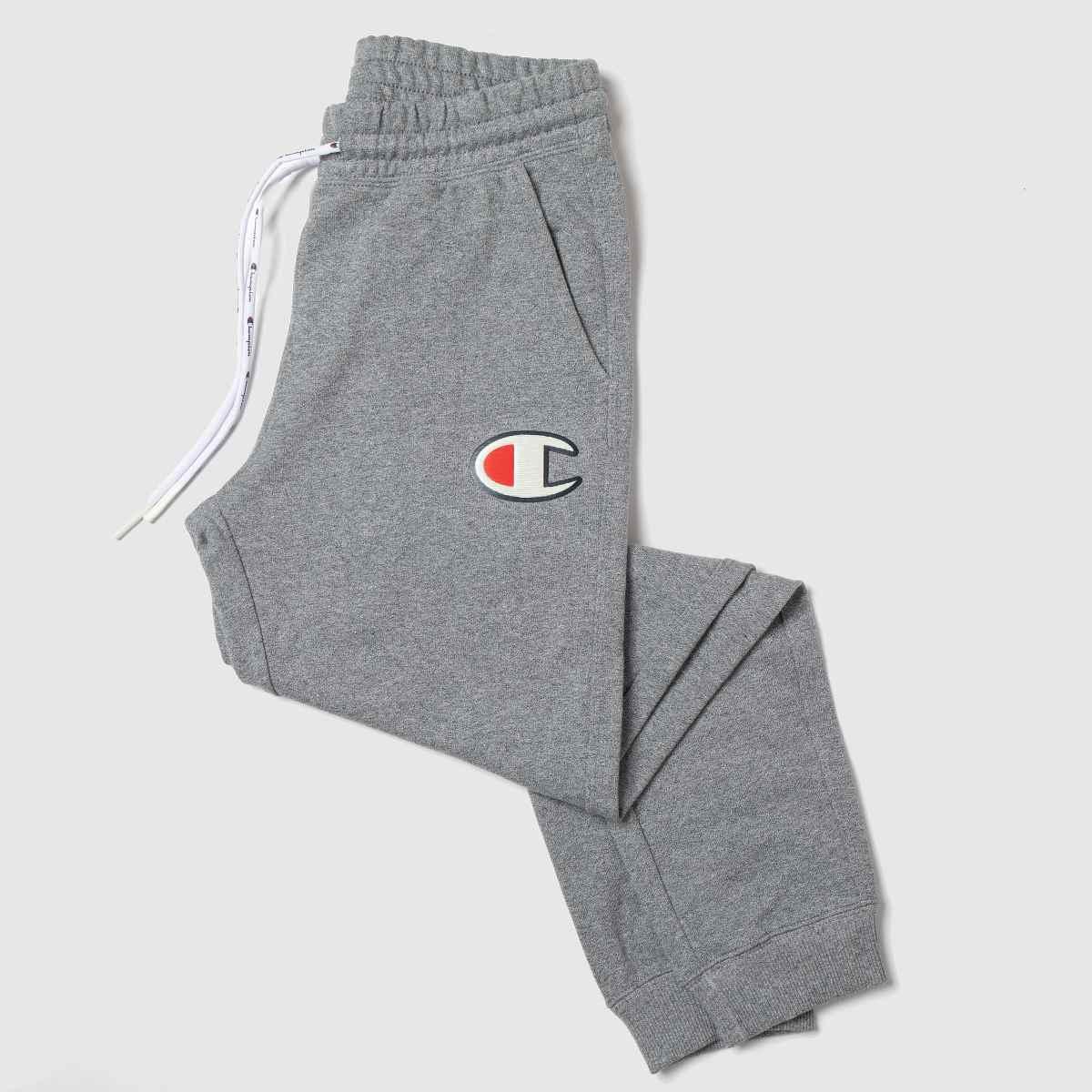 Champion Grey Rib Cuff Pants