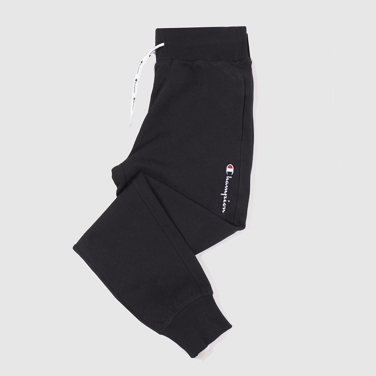Champion Black Rib Cuff Pants