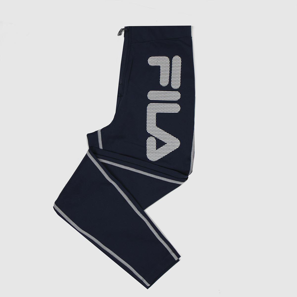 Fila Navy & White Harleen Zip Legging