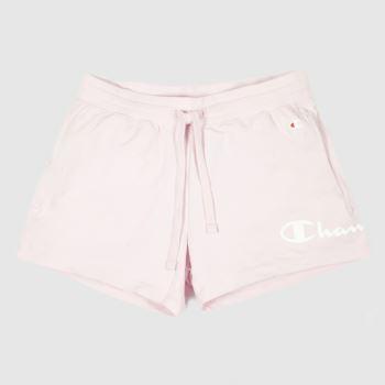 clothing champion pink shorts