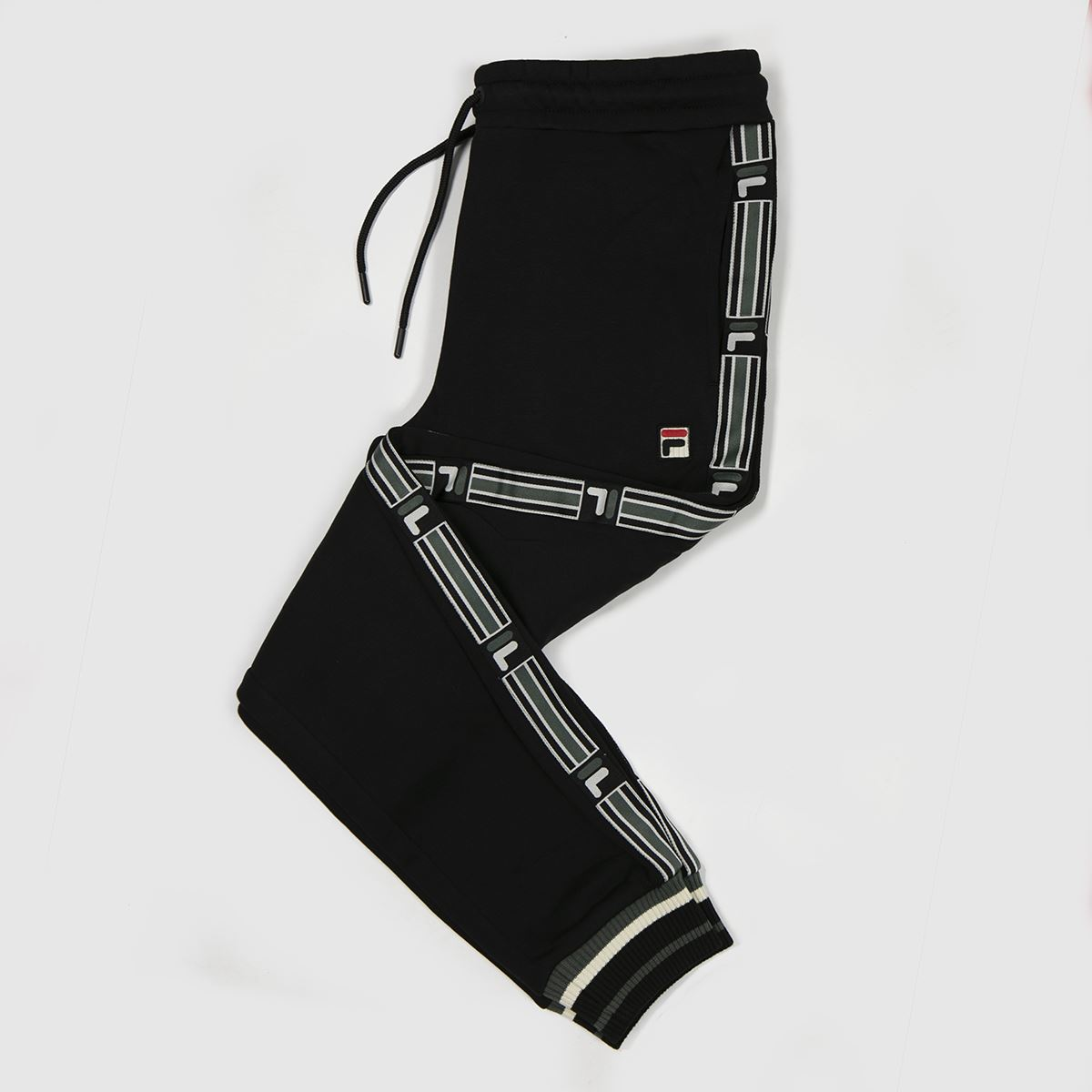 Clothing Fila Black Danube Fleece Track Pant